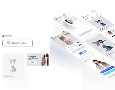 Hi Fashion Shop UI