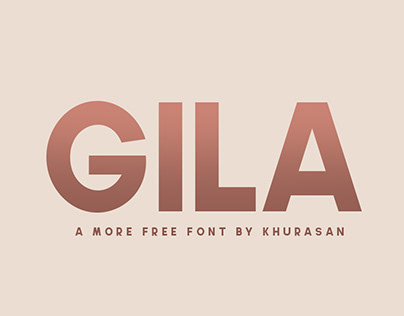 Gila Font - Free for commercial use