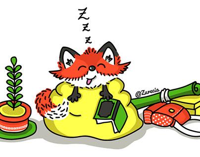 Diseño de personajes: Foxes