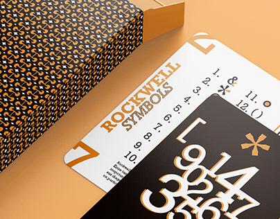 Tipografía • Naipes Rockwell