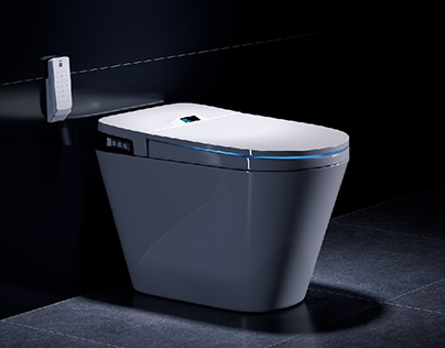 Smart toilet   Full CGI