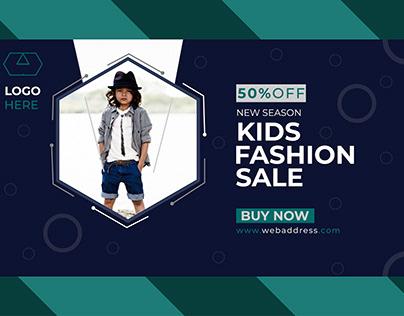 Kids web banner