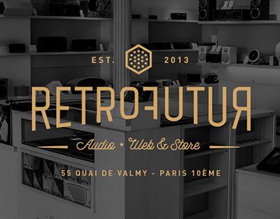 RetroFutur - Full Identity & Webdesign