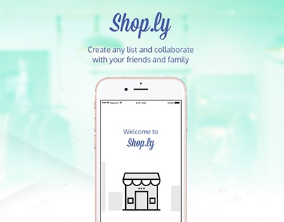 Shop.ly - Shopping lists turned easy and fun