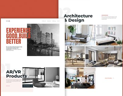 Real Estate Website Design - Prop Tech   mimAR