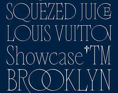Nero Alto Typeface