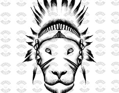 Tatuaje Léon - Tattoo lion
