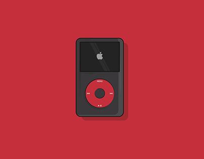 iPod Classic U2 Illustration