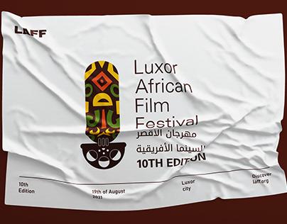 Luxor African Film Festival Full Branding