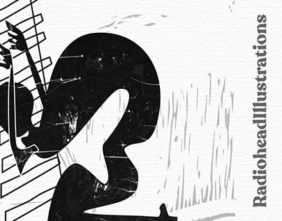 Radiohead illustrations
