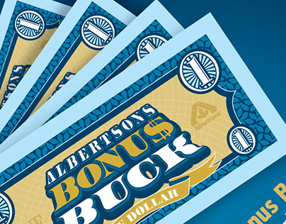 "Albertsons ""Bonus Bucks"" Reward Program"