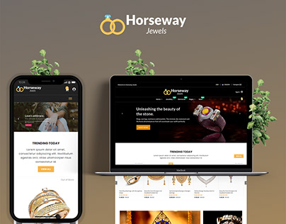 Horsway jewels - Ecommerce Template