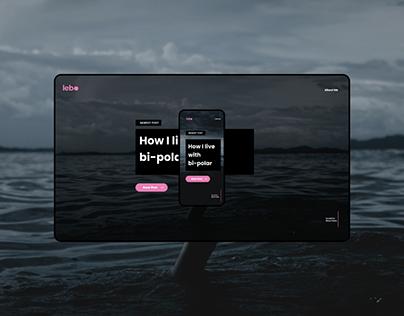 Lebo Blog Design