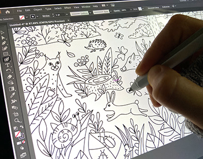 Coloring pages forPRIMO Deutschland (2019)