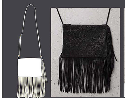 BLACK&GOLD bags and accessories for Bershka