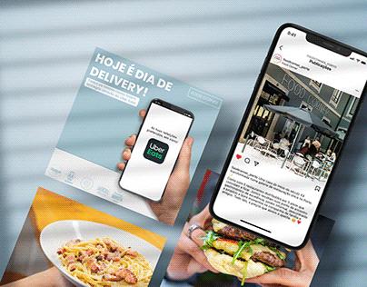 Food Corner   Social Media