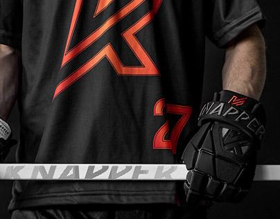 Knapper Dek Hockey identity