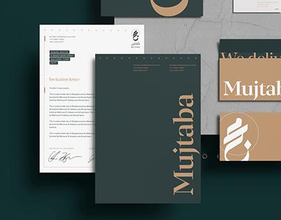 Mujtaba consultancy branding