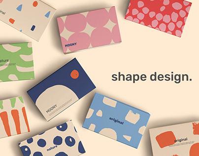 Shape Design - vector graphics