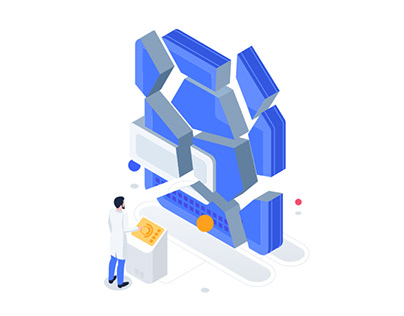 Data recovery animation