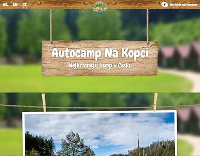 Webdesign - Autocamp Na Kopci (2020)