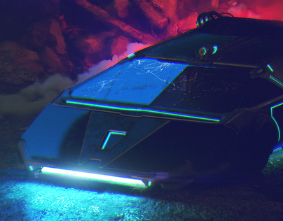 Synthwave Car