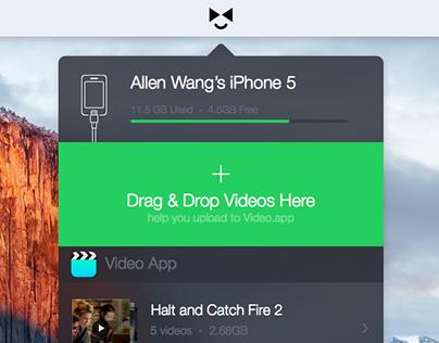 [Sketch Freebie]Tiny Mac App Interface