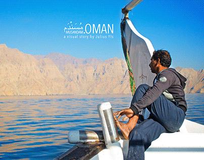 Sailing in Musandam Oman