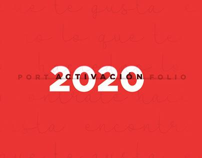 PORTFOLIO 2020 - ACTIVACIONES