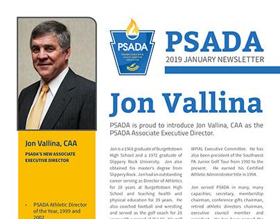 PSADA January Newsletter