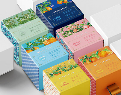 """Moroccantea"" packaging design"