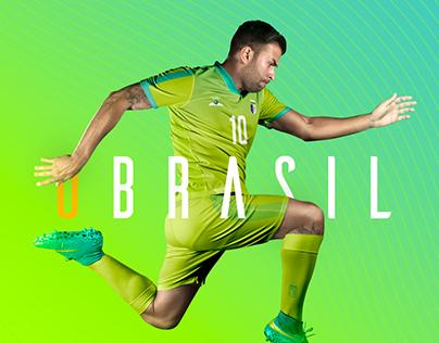 Brazil Team Kit Summer Universiade 2017