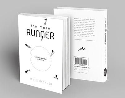 The Maze Runner - Book Jacket and Cover Redesign