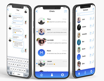 Messenger App Design