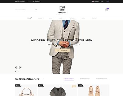 Trendify (Shop template)