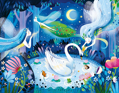 A FAIRY NIGHT - PUZZLE FOR CHILDREN