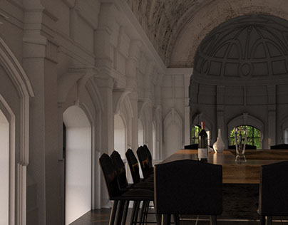 Restaurant in a chapel