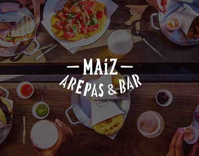 Maíz arepas & bar