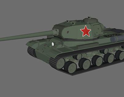 IS 2 USSR Tank