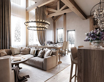 House in chalet style