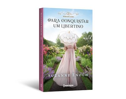 """Cover design of """"Para conquistar um libertino"""""""