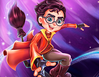 Character design and fan art Harry Potter