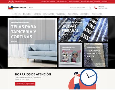 Catálogo de productos. E-commerce, Argentina.