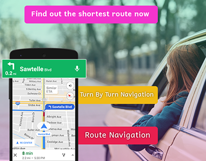 Live Street View, Transit & Travel Direction
