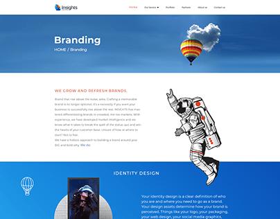 insights marketing agency WEBSITE 2