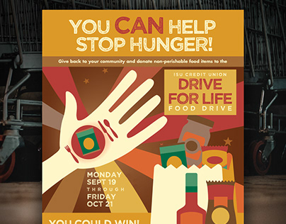ISU Food drive