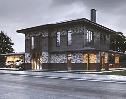 Дом с живописным видом
