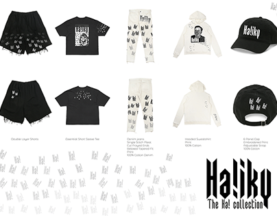 Ha!iky The Ha! mini capsule collection design concept