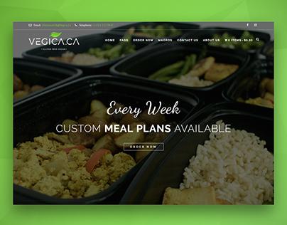 Healthy Food Delivery Website