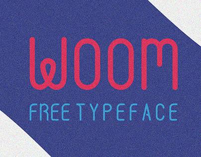 WOOM Free Typeface